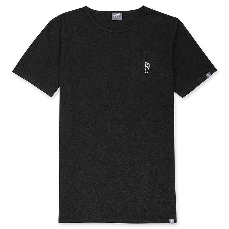 eyefoot branded luxury Charcoal Grey TShirt