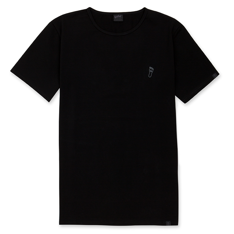 eyefoot branded Luxury Black TShirt
