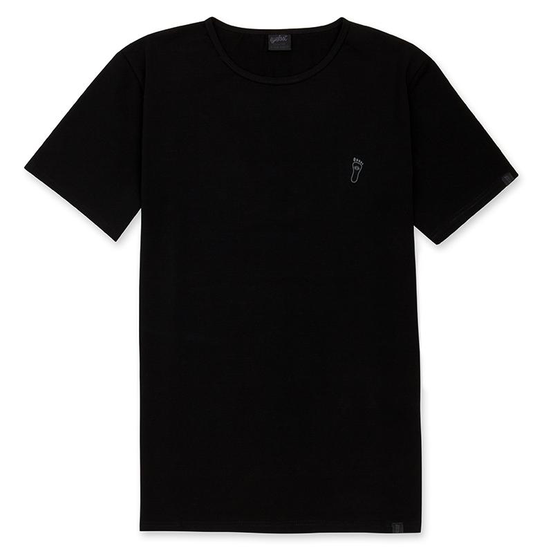 eyefoot branded Luxury Black TShirt