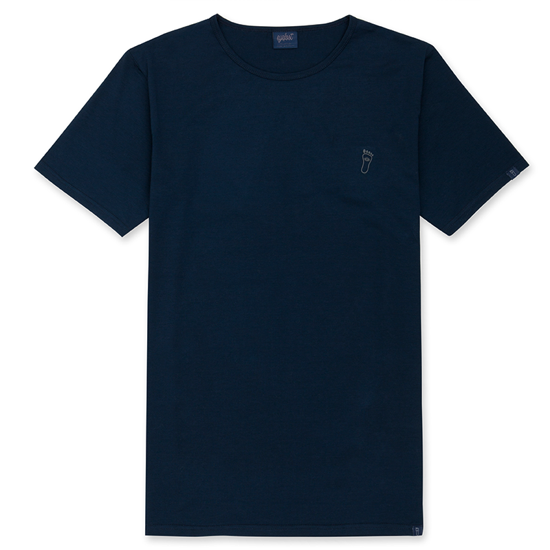 eyefoot branded luxury Navy Blue tshirt