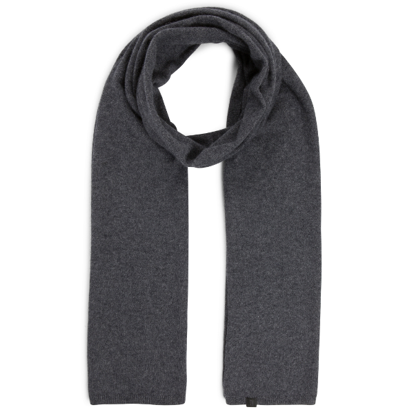 eyefoot Charcoal grey 100% Pure Cashmere scarf.