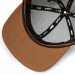 eyefoot flat brim cap- MCSS2 WI3 adjustable leather strap