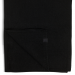 eyefoot black 100% cashmere scarf.