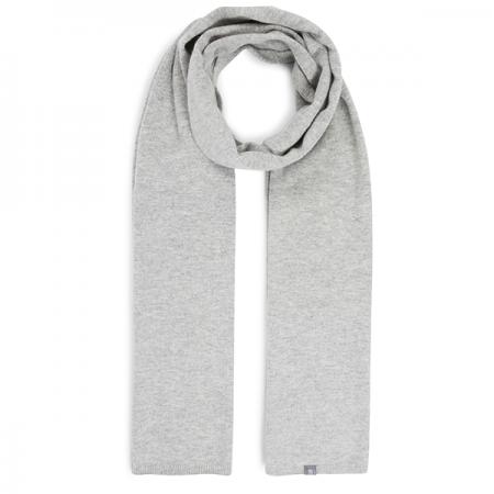 eyefoot light grey 100% cashmere scarf